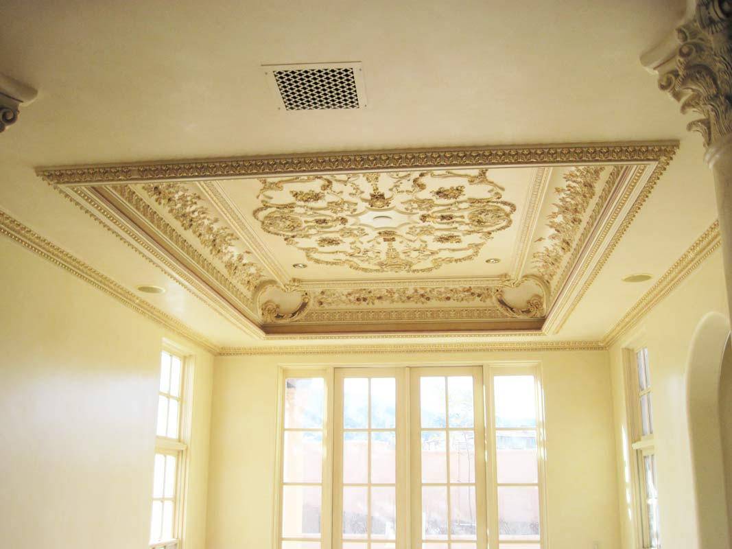Ornamental Ceiling Sam S Custom Interior Finish